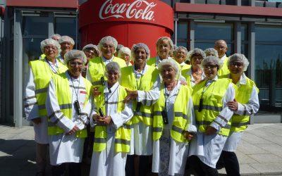 Werksbesuch bei Coca-Cola
