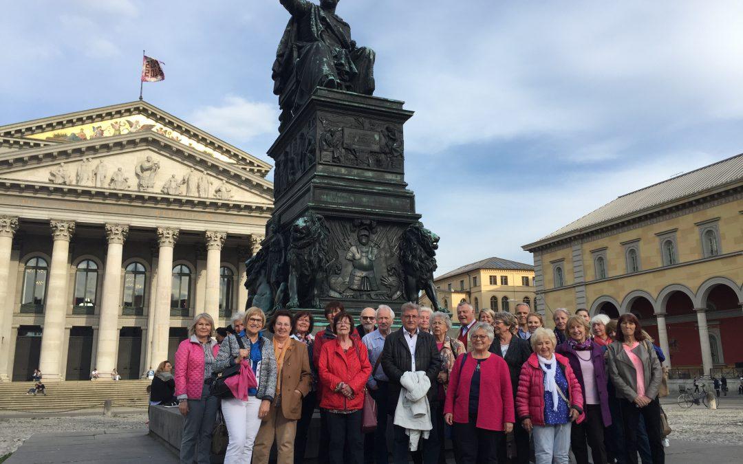 Frauen-Union auf den Spuren Napoleons.